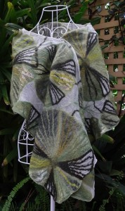 Australian Fan Palms (wrap/stole)